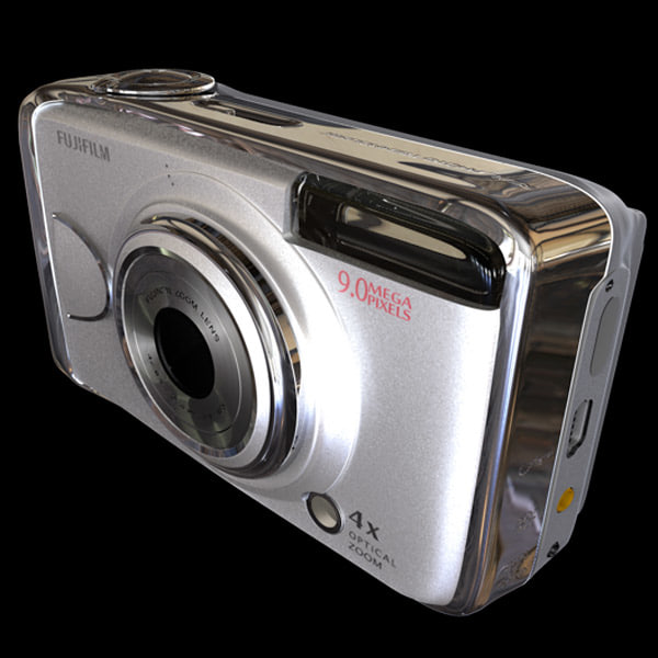 fujifilm a920 9 digital camera 3d model