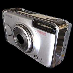 fujifilm a920 9 digital camera 3d model