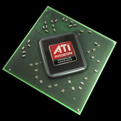 ati radeon chip 3d model