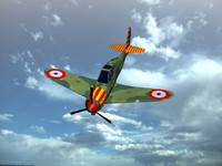 3d model french bloch mb152
