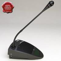 Bosch Delegate Microphone