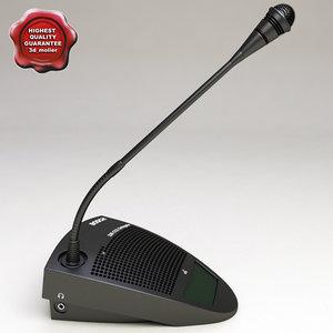 bosch delegate microphone 3d max