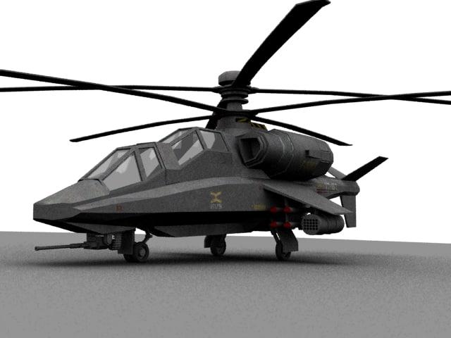 maya sci fi chopper