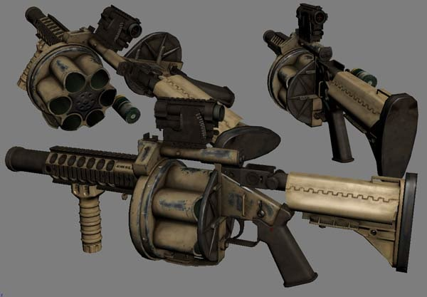 3d mgl-140 multiple grenade launcher