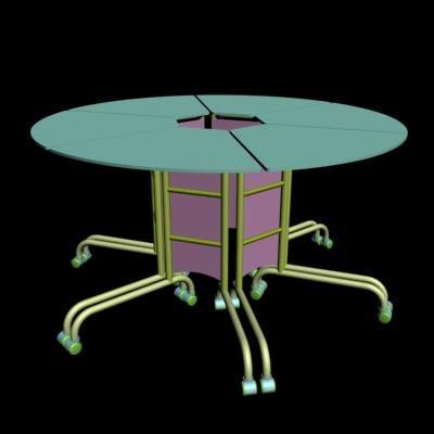 3ds max matrix folding table