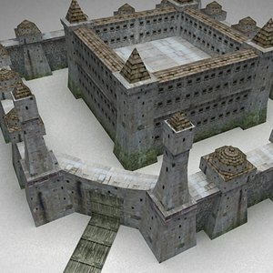 prison stronghold order 3d model