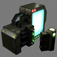 3d receiver model