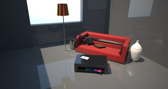 3d 3ds living room
