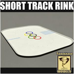 3d short track rink