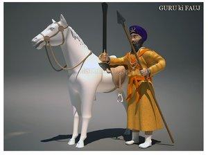 3ds sikh saint soldier
