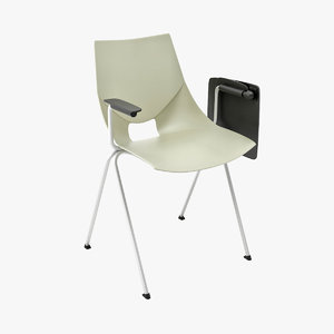 3d model modern stacking chair mobexpert