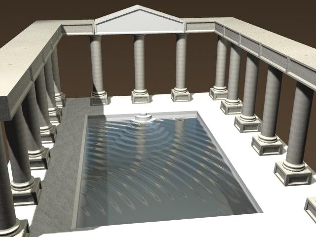 3d baths water