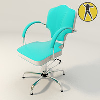 3d model chair offices