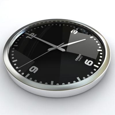 3ds max wall clock