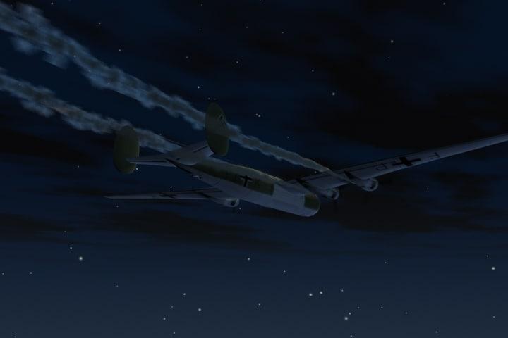 3d model messerschmitt bomber