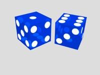 free 19mm dice 3d model