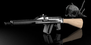 3dsmax gun