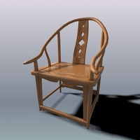 Chinese Ming style arm chair