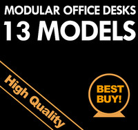 modular office desks max