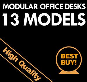 modular office desks max