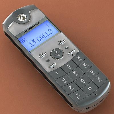 3ds max motorola phone