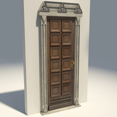 maya solid wooden door