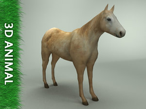 3d model horse arch renderings