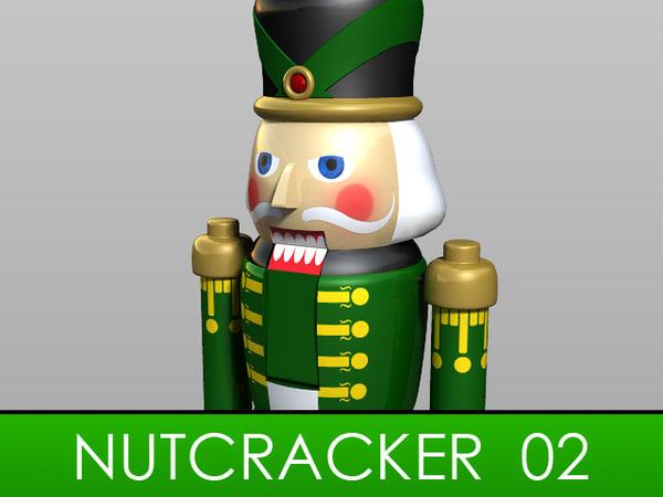 3ds max nutcracker