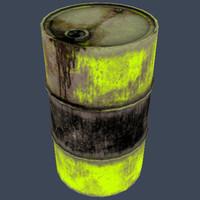 maya yellow gallon drum
