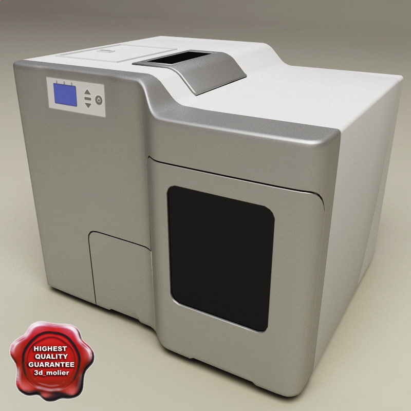 3d model of printer desktop factory
