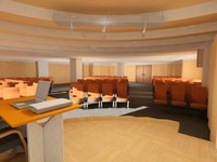 3dsmax conference lecture hall