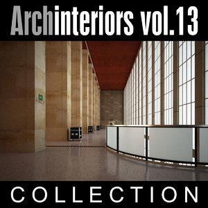 3d archinteriors vol 13 model