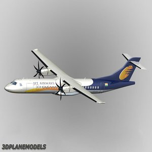 3d atr 72-500 jet airways