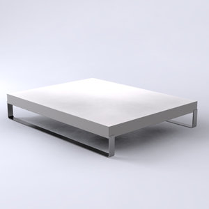3ds modern contemporary daytona table