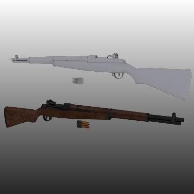 max m1 garand wwii rifle