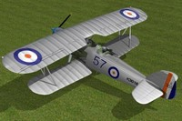 3ds hawker hart bomber