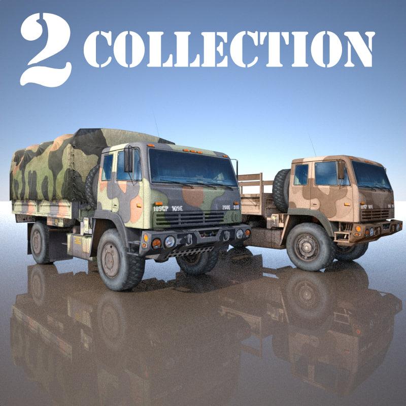 maya 2 truck military m1078
