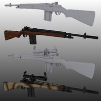 M14/M21 sniper rifle