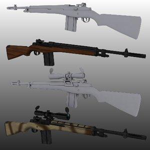 max m14 assault rifle