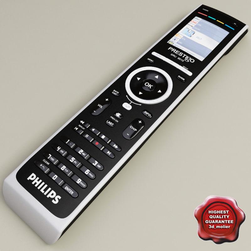 3d remote philips sru 8015