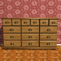 3ds max wooden room