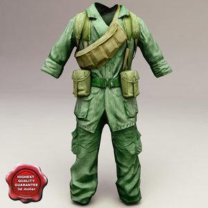 c4d soldier clothes