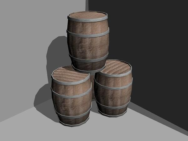 maya packet grindstone barrel