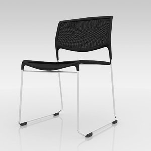 3ds daylight stacking chair