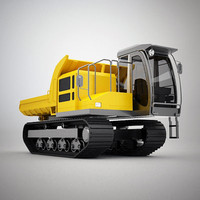 3ds max eg70r rubber crawler