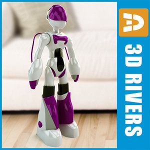 toy robot ema 3d 3ds