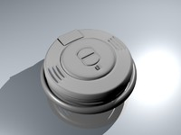 smoke alarm 3d 3ds
