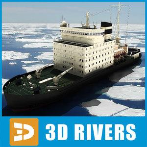 3d kapitan khlebnikov icebreaker