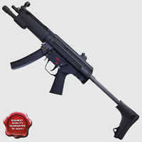 Submachine gun A3
