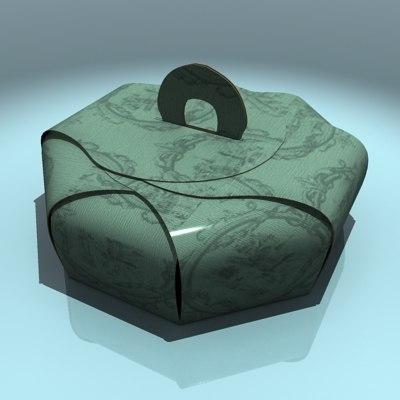 3d cake box